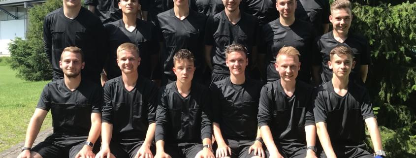 Der Lehrgang in Grünberg bot vielen talentierten Schiedsrichtern erstmals die Möglichkeit, Gespann-Erfahrungen zu sammeln.